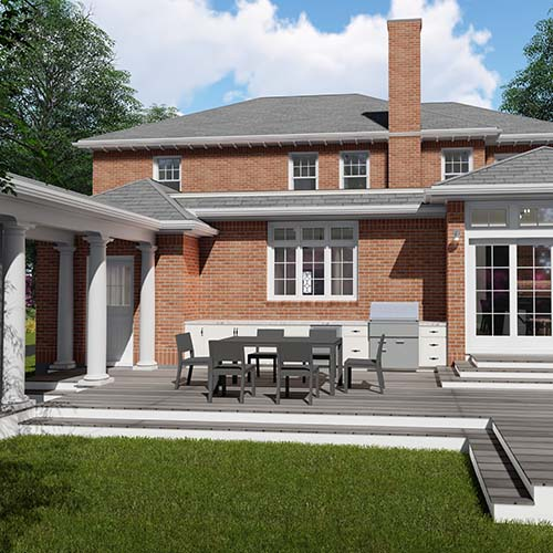 backyard rendering
