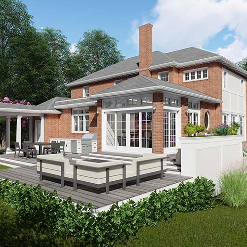 patio rendering