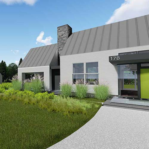 front yard rendering